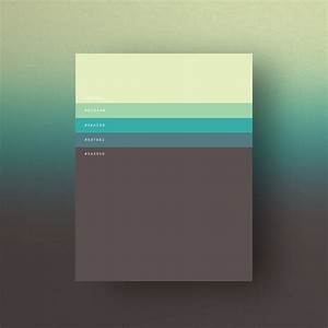 Beautiful Colour Palettes Based the Year's Most Popular