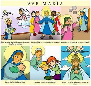 Dibujos para catequesis: AVE MARÍA