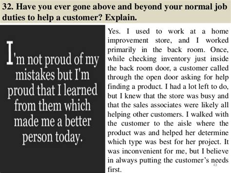 Cashier Answers by 86 Cashier Questions And Answers