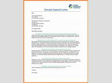 7+ sap appeal letter Marital Settlements Information
