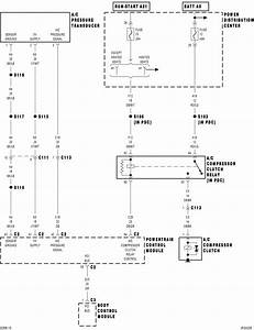I Need A Color Code Wiring Diagram For A  C Compressor On 2002 Chrysler Sebring Convertible With