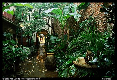 picturephoto   courtyard   french quarter