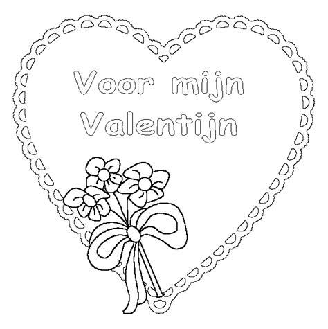 Kleurplaten Valentijn Afdrukken by Kleurplatenwereld Nl Gratis Valentijn Kleurplaten