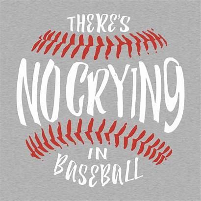 Baseball Crying There Shirt Shirts Silhouette Mom