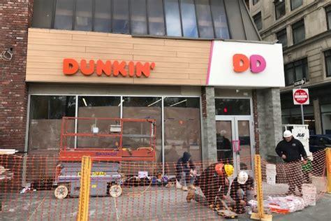 dunkin donuts  opening  dunkin store  boston