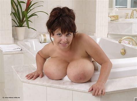 Milena Velba Tits Hanging Out Bath Tub Sunnydaysxx