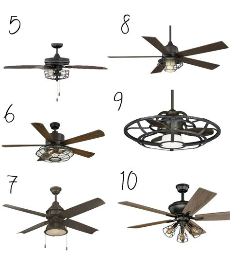 farm style ceiling fans 10 affordable farmhouse style ceiling fans