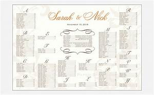 Wedding seating chart template free premium templates for Wedding seat chart template