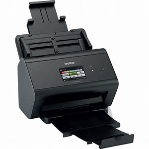 brother imagecenter ads 2800w wireless document scanner With black and white document scanner