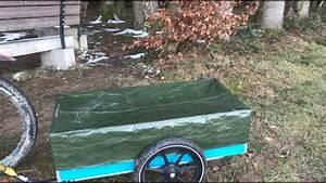 Anhänger Selber Machen : abdeckplane f r fahrrad anh nger selber machen youtube ~ Watch28wear.com Haus und Dekorationen