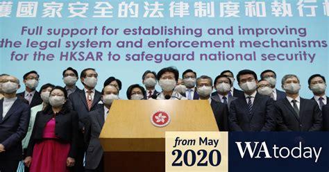 Australia, UK, Canada rebuke China over Hong Kong intervention