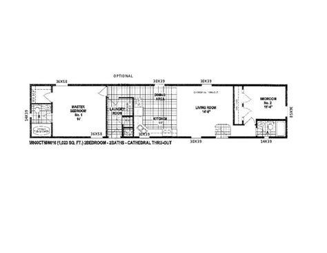 2 bedroom 1 bath mobile home floor plans 2 bedroom single wide trailer floor plans