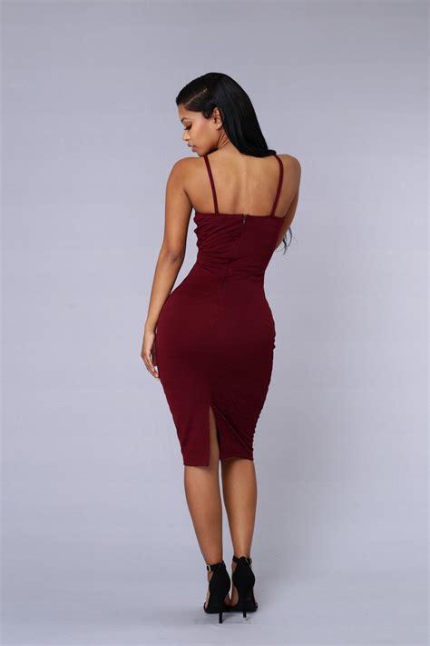 set you free dress burgundy