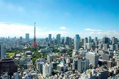 Tokyo Background Wallpapers Japan Skyline Resolution Landscape