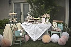 Pretty tea party bridal shower inspiration the sweetest for Wedding shower tea party