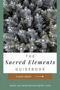 The Sacred Elements Guidebook Is For Those Who Want To