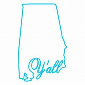 Alabama Home State Svg Cuttable Designs