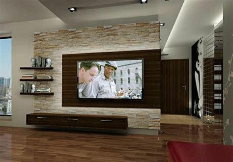 Wohnzimmer Design Wand Stein by Tv Wandpaneel 35 Ultra Moderne Vorschl 228 Ge Archzine Net