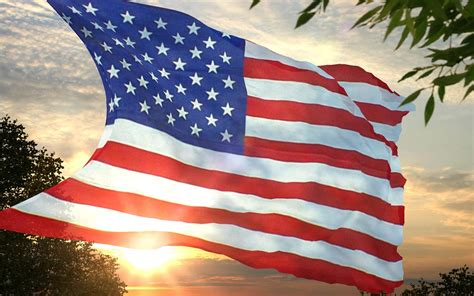 United States Flag Background ·①