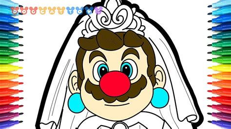 How To Draw Super Mario Odyssey Mario In A Wedding Dress