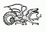 Lezard Printable Ninjago Komodo Bestcoloringpagesforkids Coloriages Drake Coloringhome sketch template