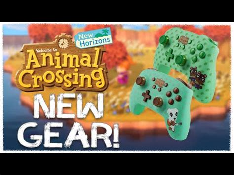 animal crossing nintendo switch themed pro controllers