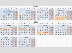 Calendario escolar 20152016 Consellería de Cultura