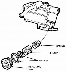 85 F250 Fuel Filter Location