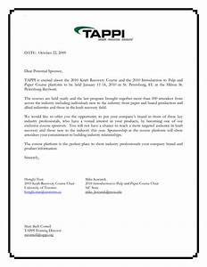 Best photos of sample sponsorship request letters event for Letter to request sponsorship for an event