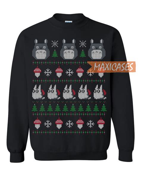 totoro sweater my totoro sweater unisex size s to 3xl