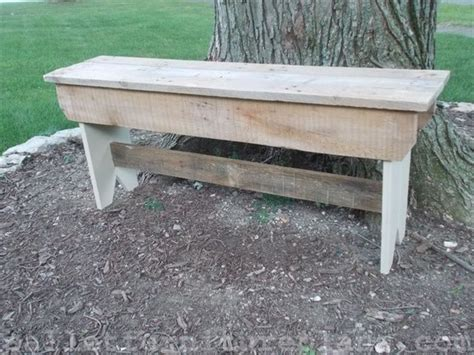 plans for a wood bench discover woodworking projects
