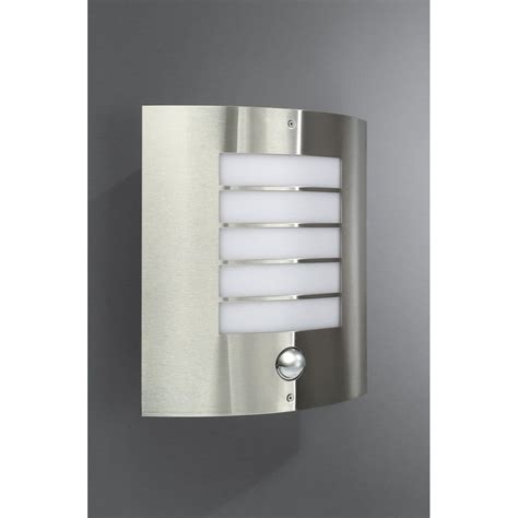 philips oslo single light stainless steel outdoor wall