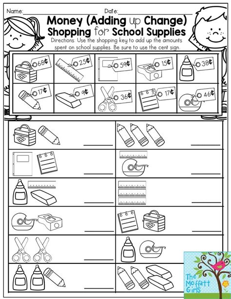 25+ Best Ideas About Money Worksheets On Pinterest  Counting Money Worksheets, Counting Coins