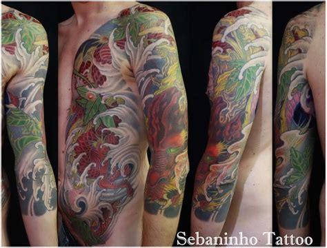 tatouage japonais bras homme images  pinterest