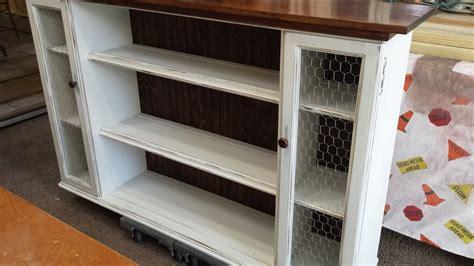 hometalk hutch top repurposed  dining room storage
