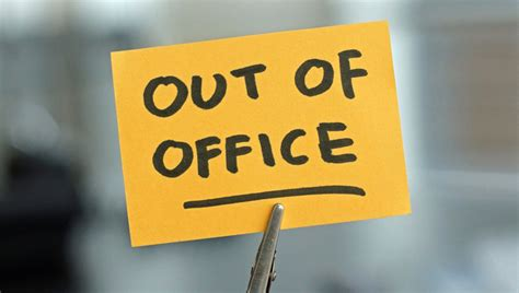 Out Of Office by Out Of The Office Status And Messages