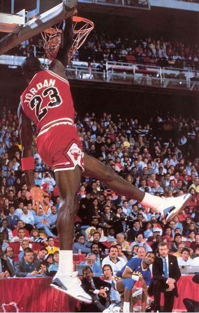 Jordan Dunk Michael Slam Air Wearing Cement