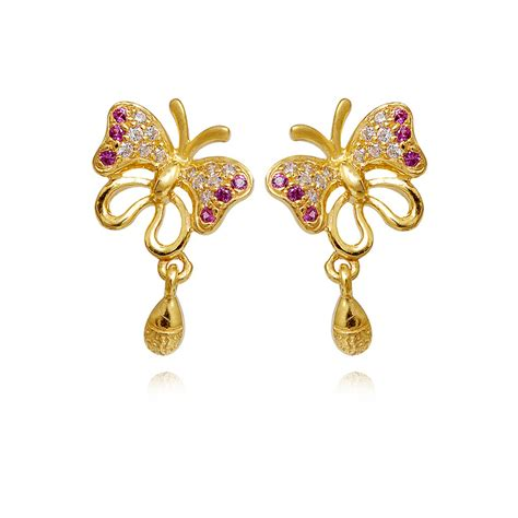 gold earrings designs for daily use diamondstud