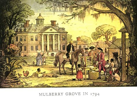 mulberry grove plantation georgia historical society