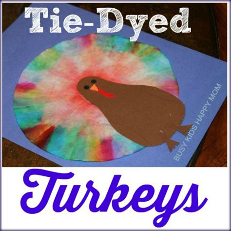How to tie dye coffee filters. Coffee Filter Turkey Activity in 2020   Coffee filter art ...