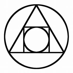Alchemical symbol of Transmutation. Used and recognized by ...