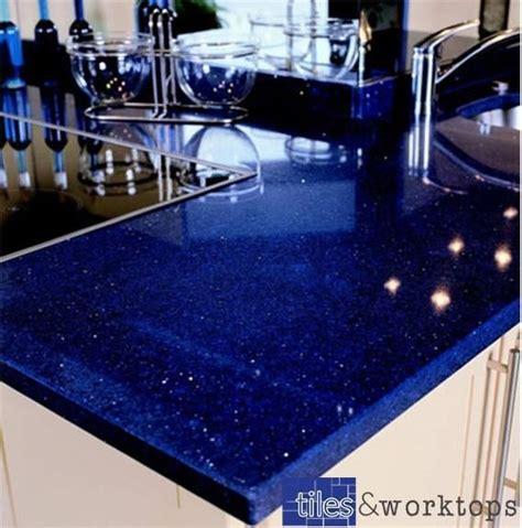 stardust dark blue sparkling quartz kitchen worktop mm