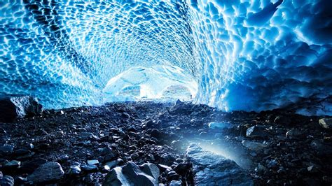 Ice Cave Washington 1920x1080 (1080p) - Wallpaper | Forest ...