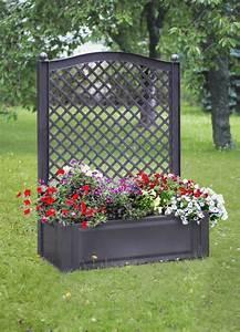 Claustra De Jardin : jardiniere claustra en pvc cliquez sur syma mobilier ~ Premium-room.com Idées de Décoration