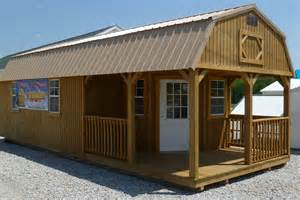 Portable Buildings Deluxe Lofted Barn Cabin