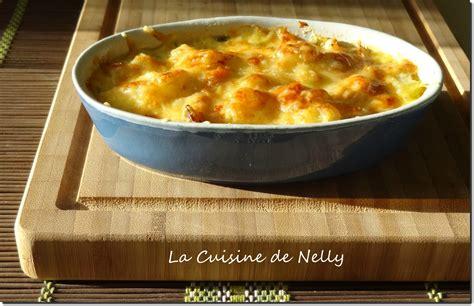 la cuisine de babette gratin de chouchous au haddock la cuisine de nelly