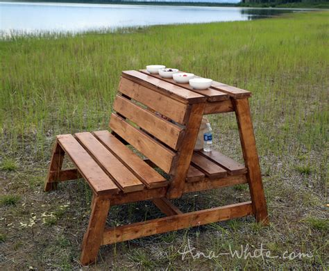 white firepit benches with table and storage diy projects