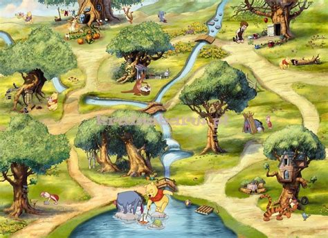 Hundred Acre Wood 4-453 Mural