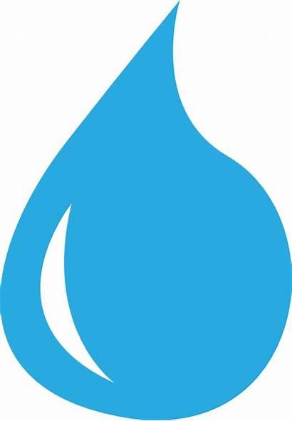 Transparent Water Clip Clipart Drop Cliparts Teardrop