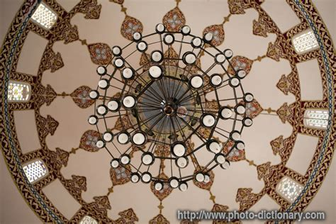 ceiling chandelier photo picture definition at photo
